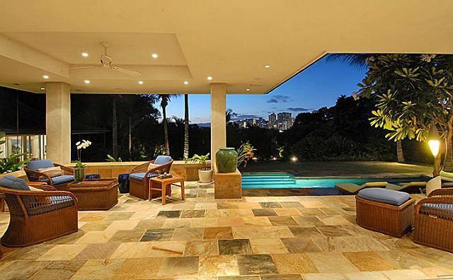Florida Home Decor Decorating Ideas Best Lanai Gallery: Can Do Vinyl Tile On Top Of Concrete Lanai For Decorative