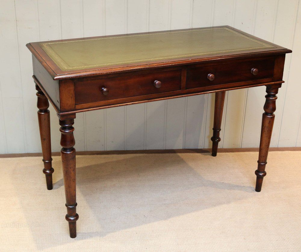 Mahogany Leather Top Writing Desk Leather Top Writing Desk Mahogany Leather Antique Writing Desk