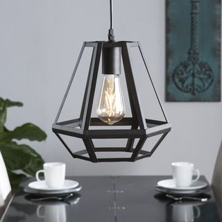 Overstock Pendant Lights Simple Shop For Harper Blvd Axones Caged Lantern Pendant Lampget Free Design Inspiration