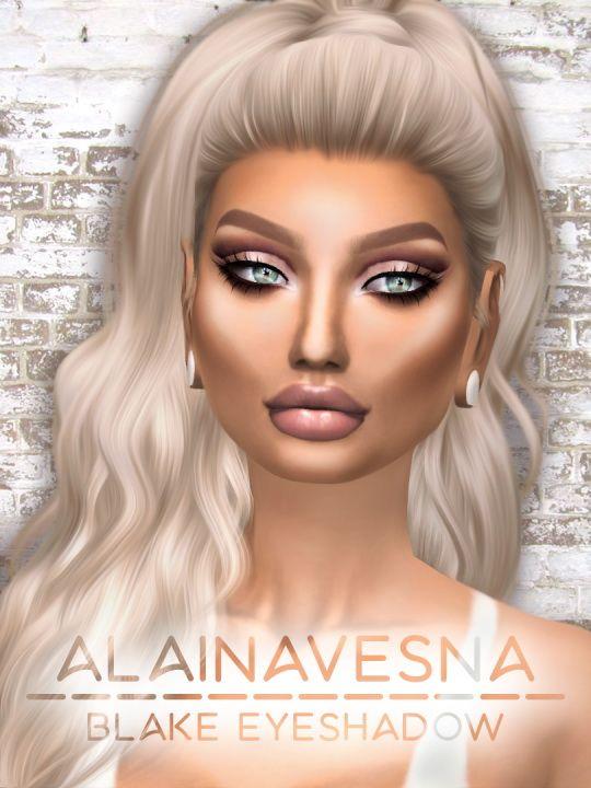 Alaina Vesna: Blake Eyeshadow • Sims 4 Downloads