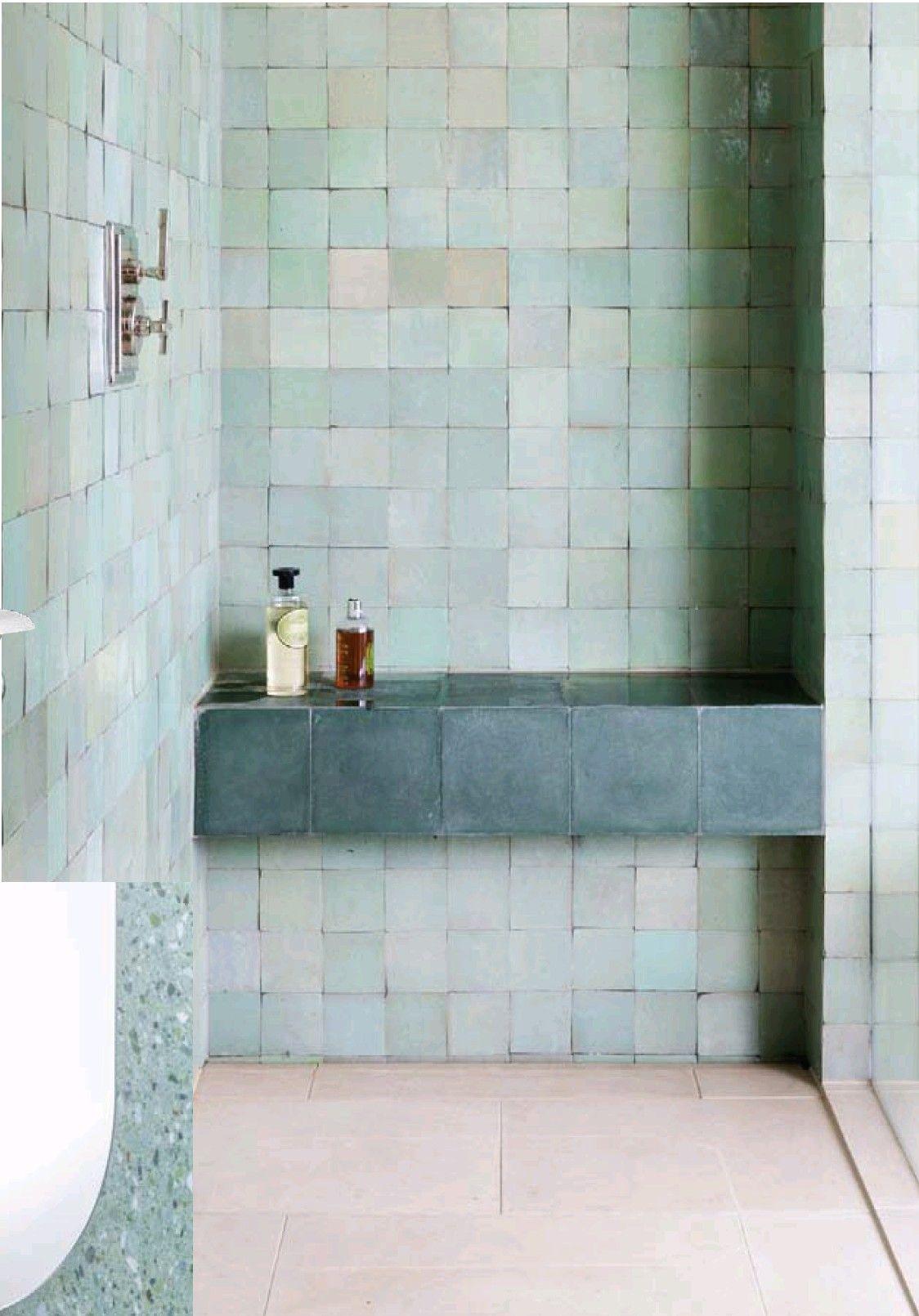 zellige tiles bathroom inspiration