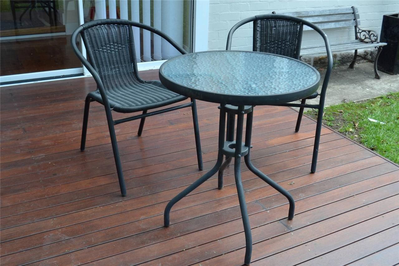 Ikea Cafe Set Outdoor Round Dining Table Chairs