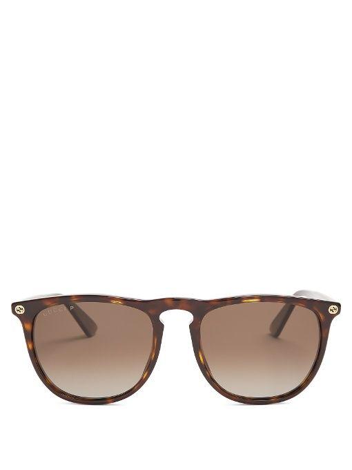 46855b1c2d Gucci D-frame acetate sunglasses
