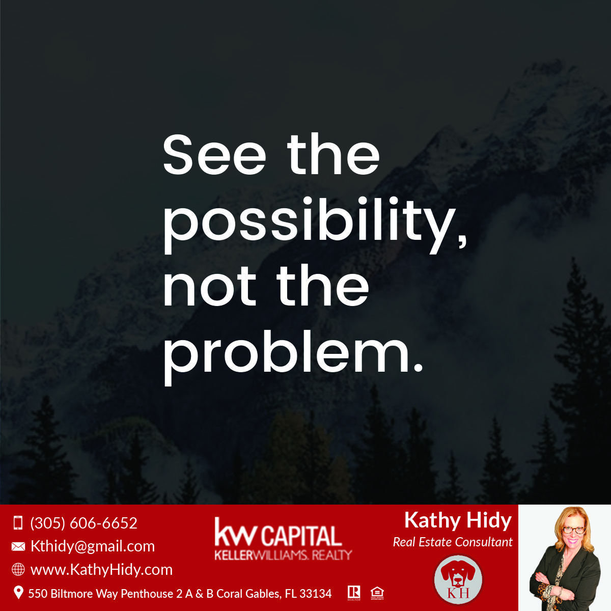 Kathy Hidy Real Estate Agent Miami real estate, Real
