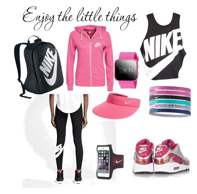 """""""Enjoy"""" by amila677 ❤ liked on Polyvore featuring NIKE"""
