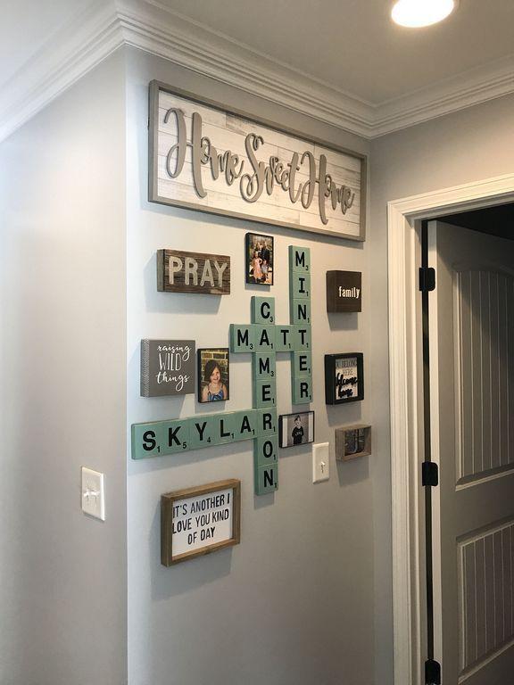 20 Farmhouse Wall Art Decorating Ideas For Hallway Living Wall Decor Farmhouse Wall Decor Room Wall Decor