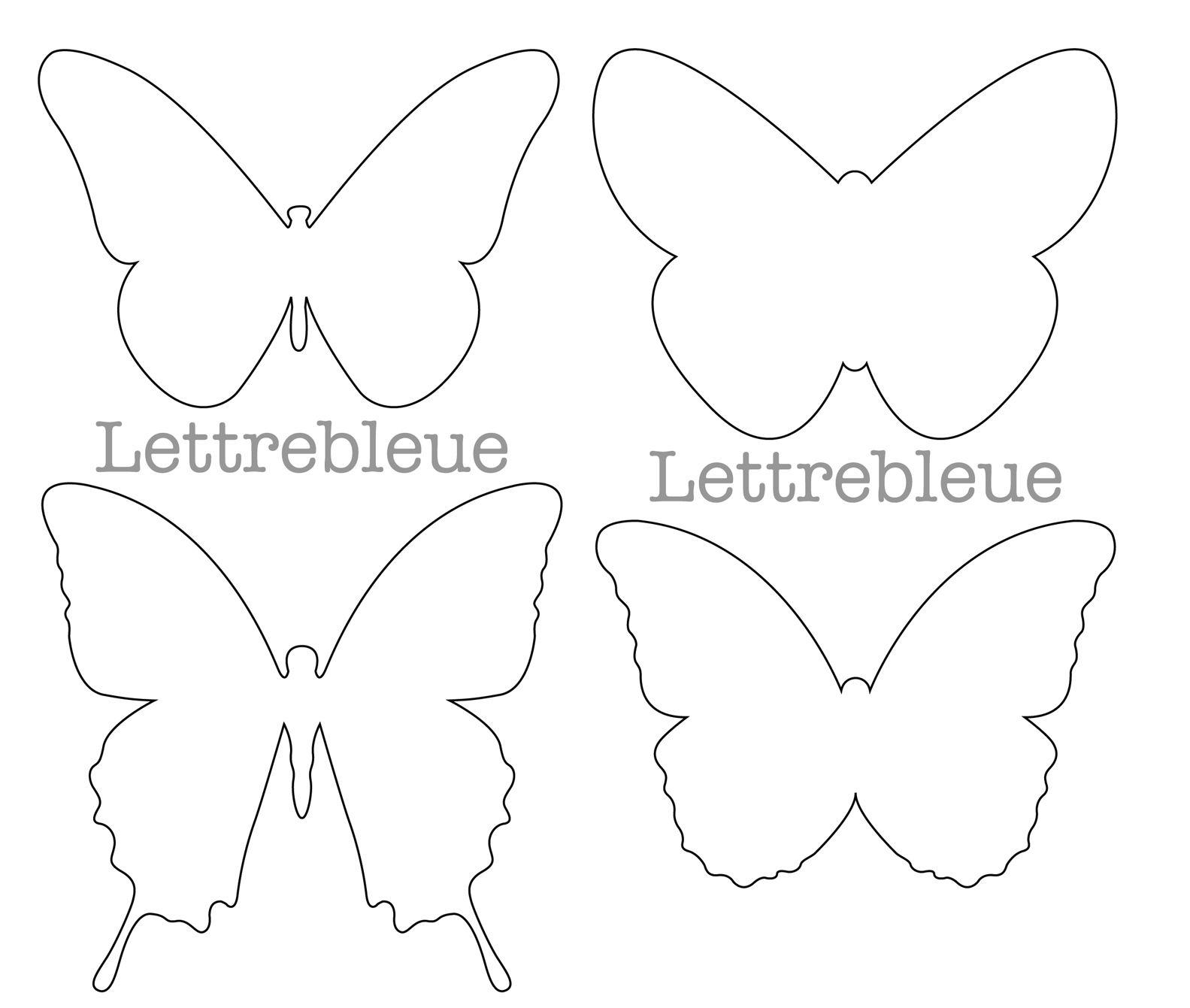 24 idees de modele de papillon modele
