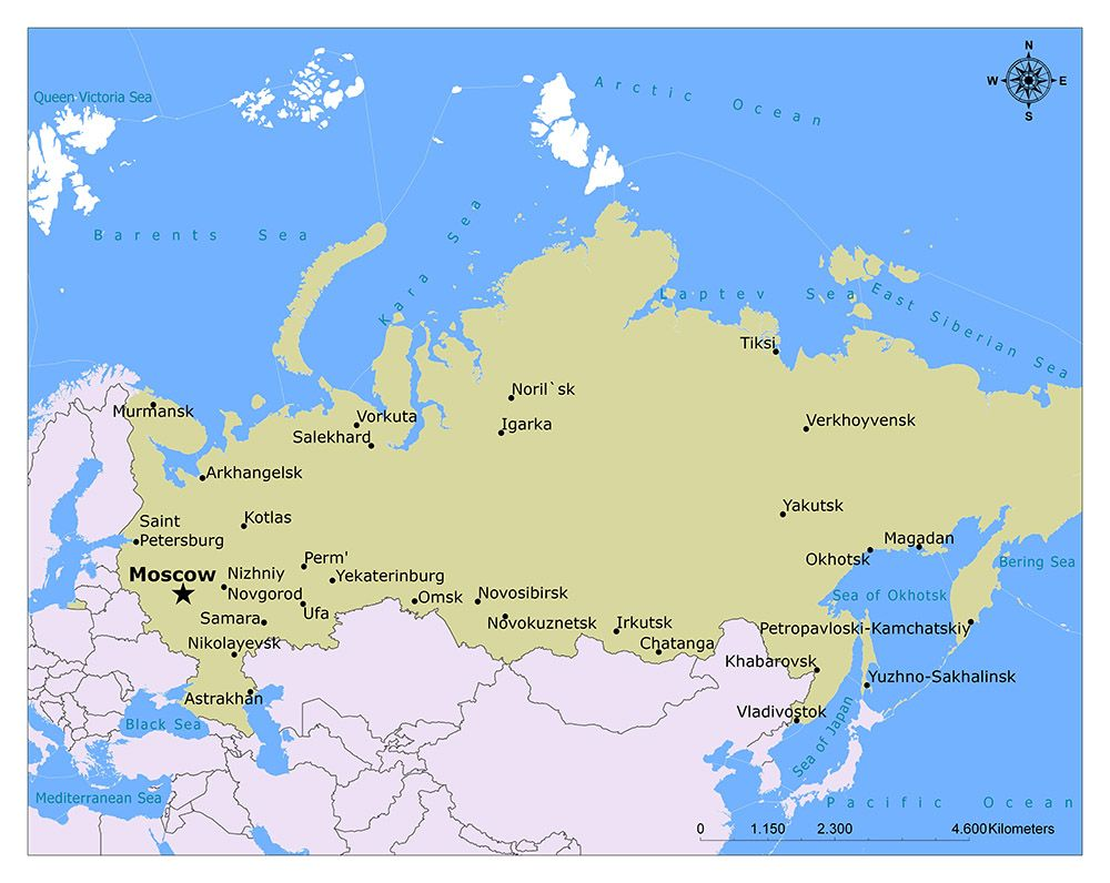 Where is Moscow | Capitals | Russia map, Moscow kremlin, Moscow