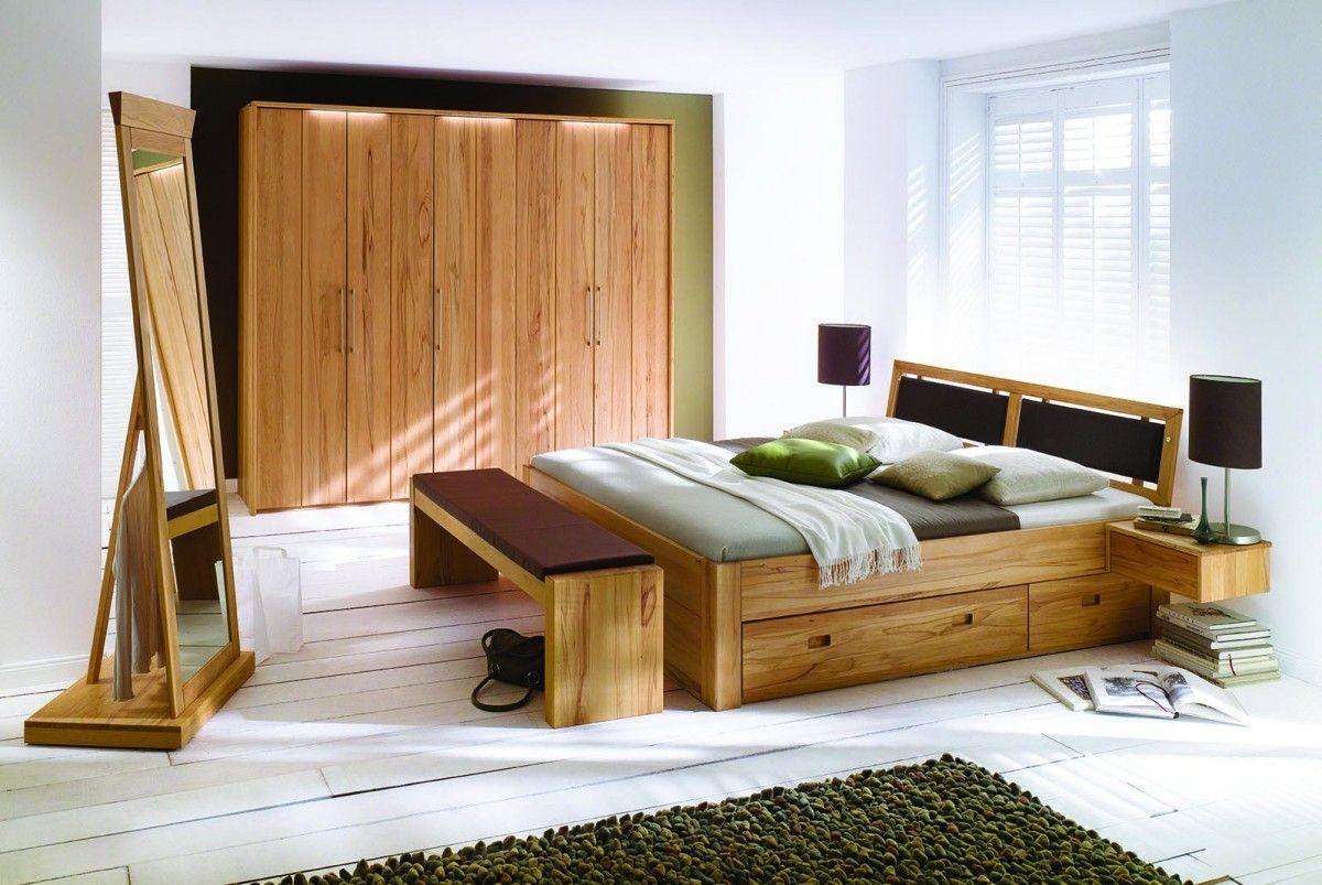 Vollholz Schlafzimmer in 2020   Echtholz möbel ...