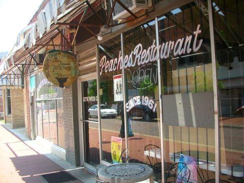 Peaches Restaurant Downtown Jackson Mississippi Jackson