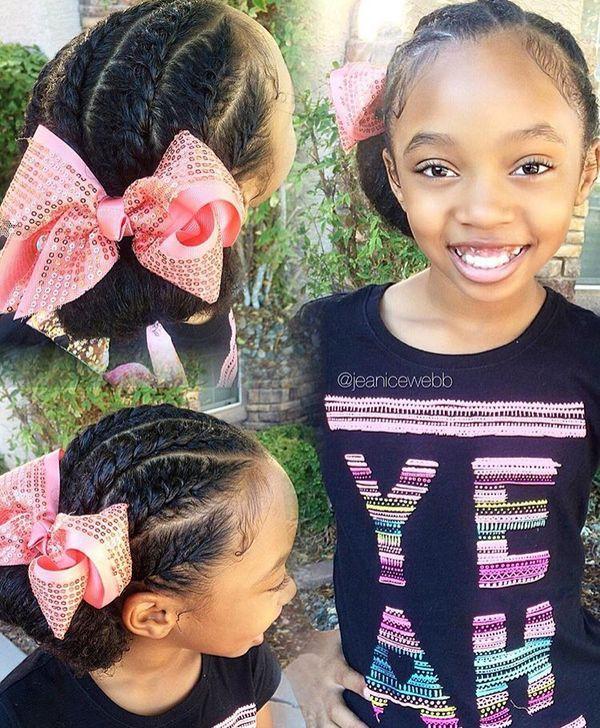 Liyah S Recital Bun Baby Girl Hairstyles Toddler Hair