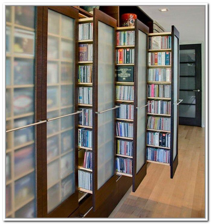 10 DIY DVD Storage Ideas That Might Steal Your Heart Away ...