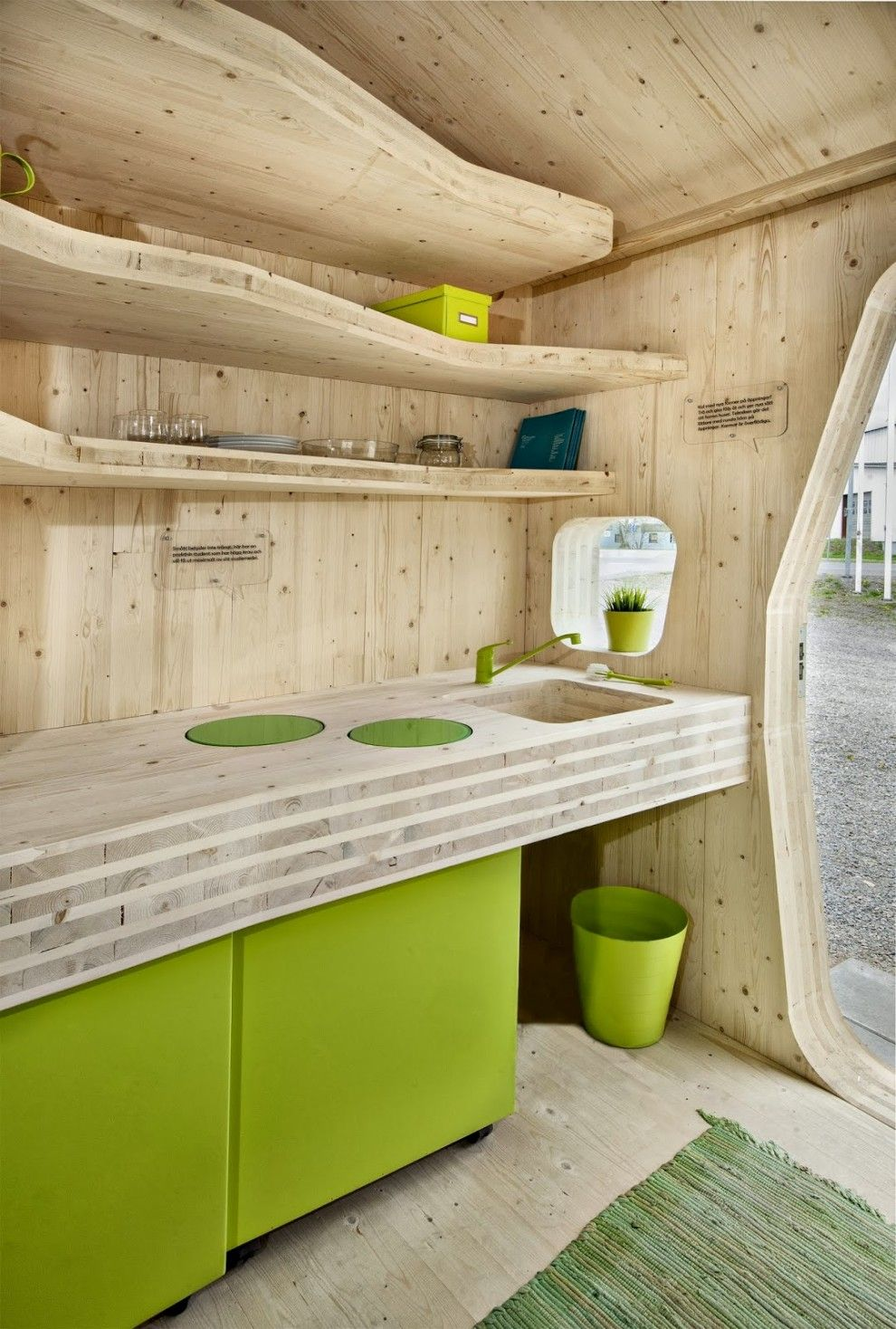 Smart Student Flat / Tengbom Architects