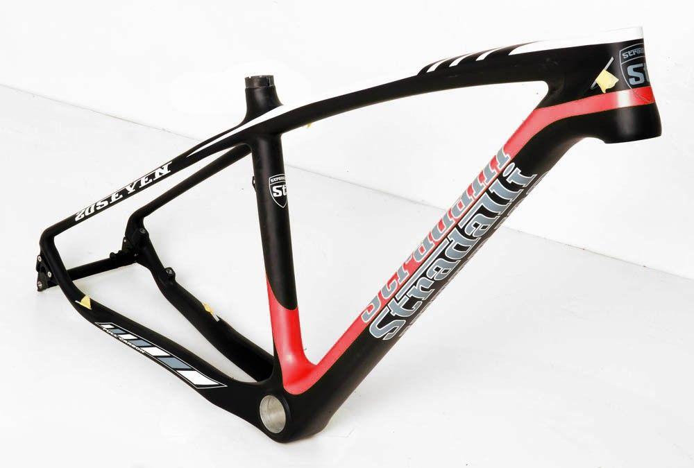 Stradalli 20 Seven Full Carbon Fiber Mountain Bike Frame. 27.5\'\' MTB ...