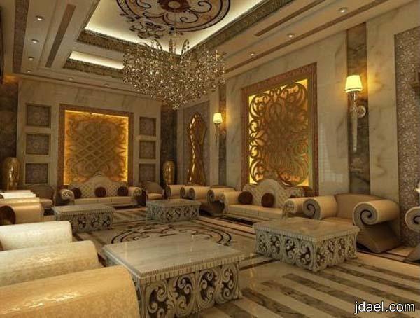 ديكورات وتصاميم قصور سعوديه فخمه واثاث فاخر Beautiful House Plans Modern Interior Design Interior Design