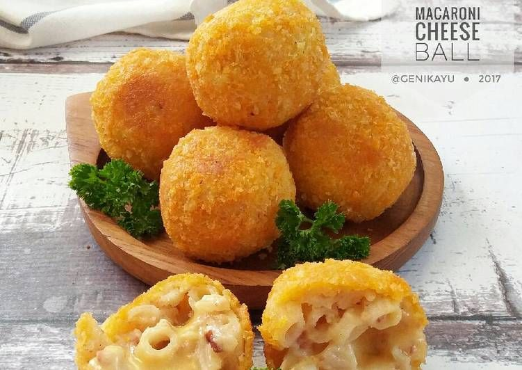 Resep Macaroni Cheese Ball Oleh Genika Yulia Resep Makaroni Resep Makanan Enak