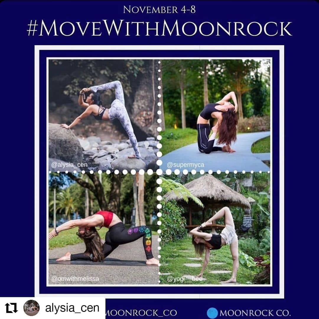Repost Alysia Cen Kotamobagu Sulawesi Utara Indonesia Wohooooo Cant Wait For This Lovely Challenge S Yoga Motivation Yoga Challenge Moon Rock