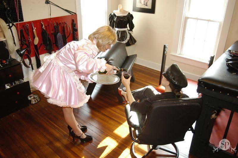 Slave sissy maid Life as