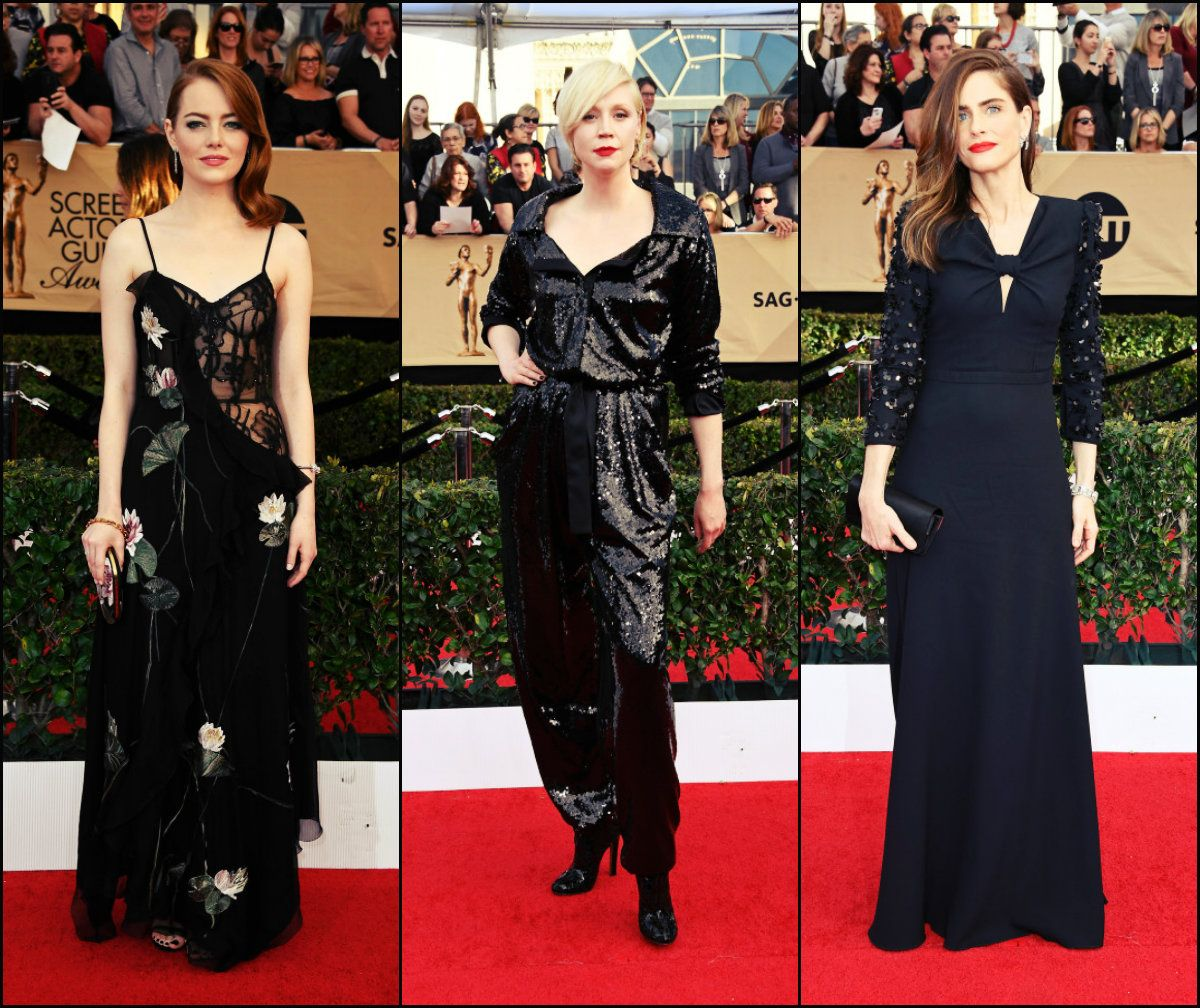 Best SAG Awards 2017 Hairstyles And Looks //  #2017 #Awards #Best #Hairstyles #looks