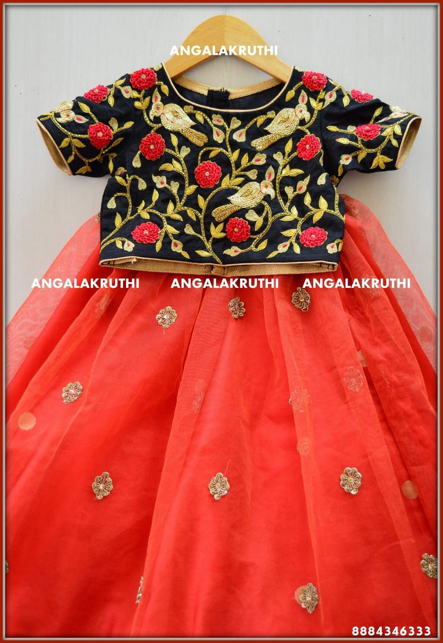 66bbe3b904c Kids Custom designs by Angalakruthi boutique Bangalore Online order  placement service and international shipment service available Custom  designer boutique ...