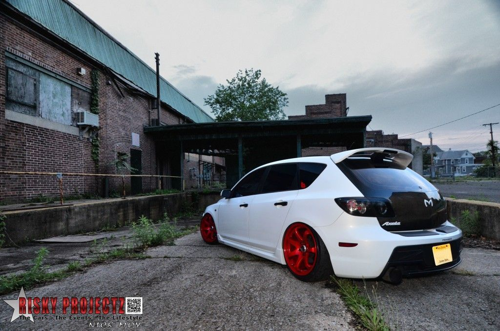 Risky projectz white devil robbie santucci mazdaspeed for Mazdaspeed 6 exterior mods