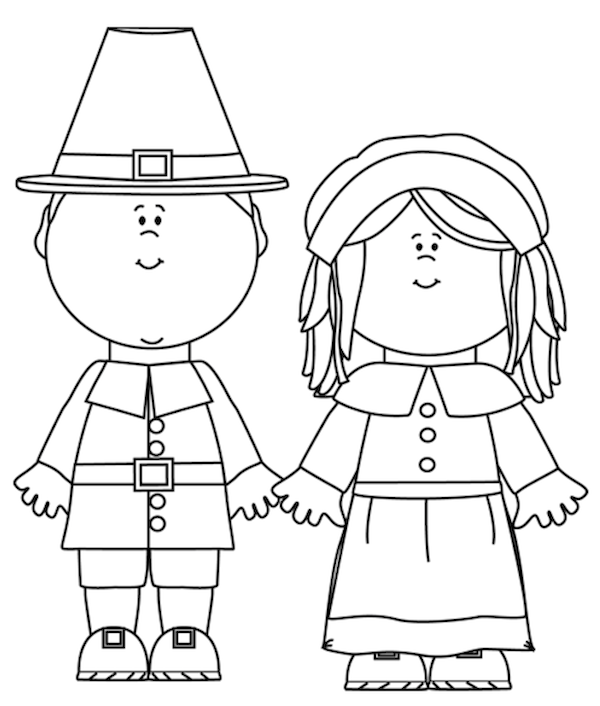 Fancy Pilgrim Coloring Sheets Ornament - Ways To Use Coloring Pages ...