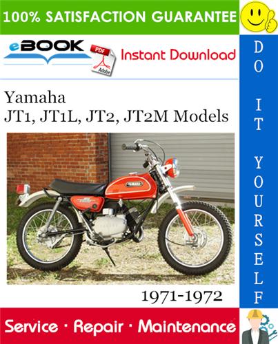 Yamaha Jt1 Jt1l Jt2 Jt2m Models Motorcycle Service Repair Manual Assembly Manual 1971 1972 Motorcycle Model Repair Manuals Yamaha