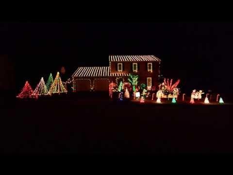 2016 Christmas Lights Thunderstruck Ac X2f Dc Youtube Best Christmas Lights Christmas Lights Christmas Lighting