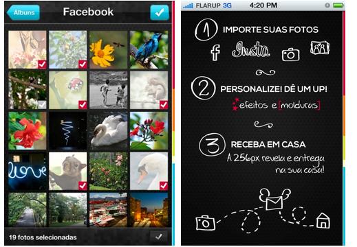 App envia foto para revelação direto do Instagram, Facebook e álbum do iPhone e iPad - Web Expo Forum 2012