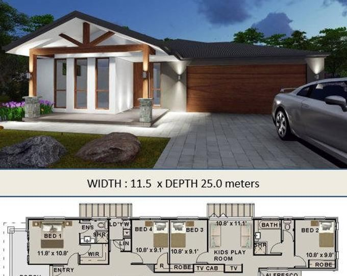 418m2 (4503 Sq Foot) 5 Bed+Flat | 4 plus study Home design ...