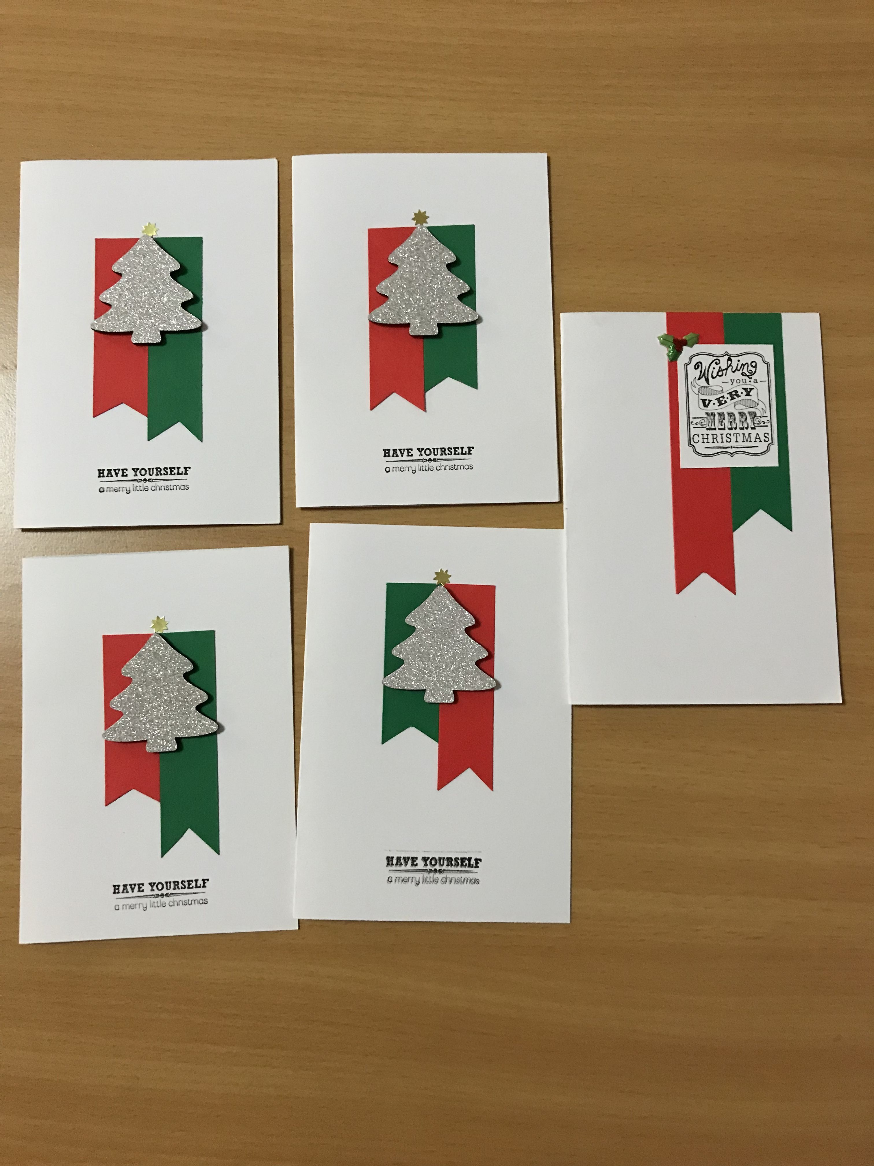 simple and easy to make Christmas cards | card making | Pinterest ...