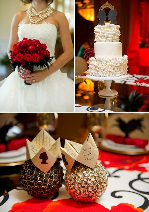 """Wedding at the Warwick Melrose Dallas - GLAM WEDDING STYLING + SILHOUETTE CAKE LOVE   Aaaand your Bachelor Pad Recap returns. Some water would be nice. Plus Bam stars in, """"Fouffy Face.""""   The Knotty Bride™ Wedding Blog + Wedding Vendor Guide"""