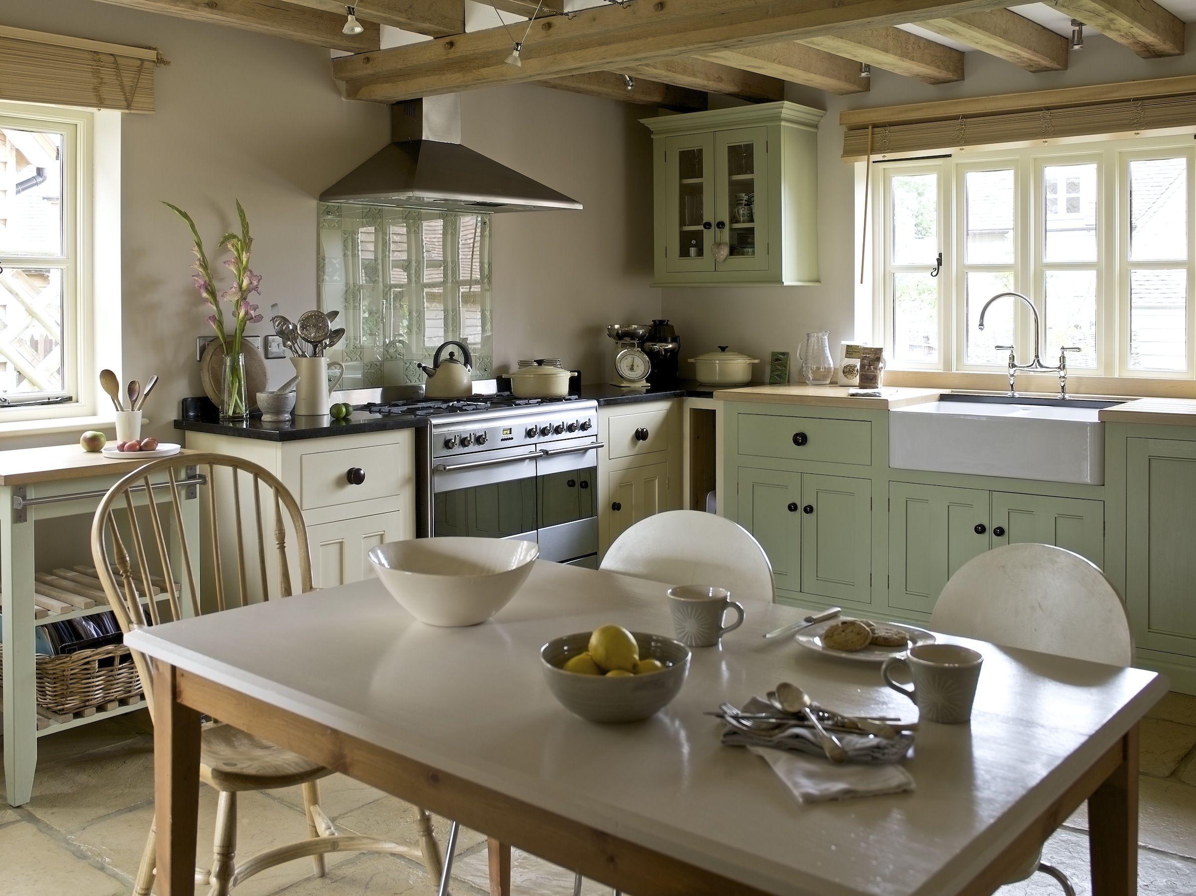 i really want an eatin farmhouse style kitchen Country