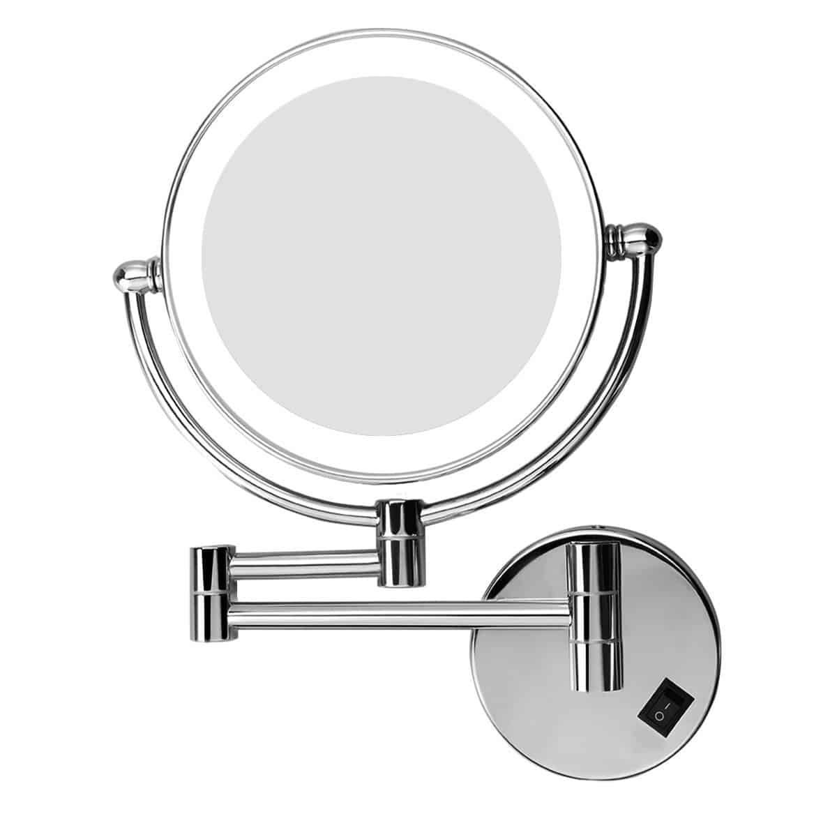 Top 10 Best Lighted Makeup Mirrors In 2020 Wall Mounted Makeup Mirror Wall Mounted Makeup Vanity Makeup Mirror With Lights