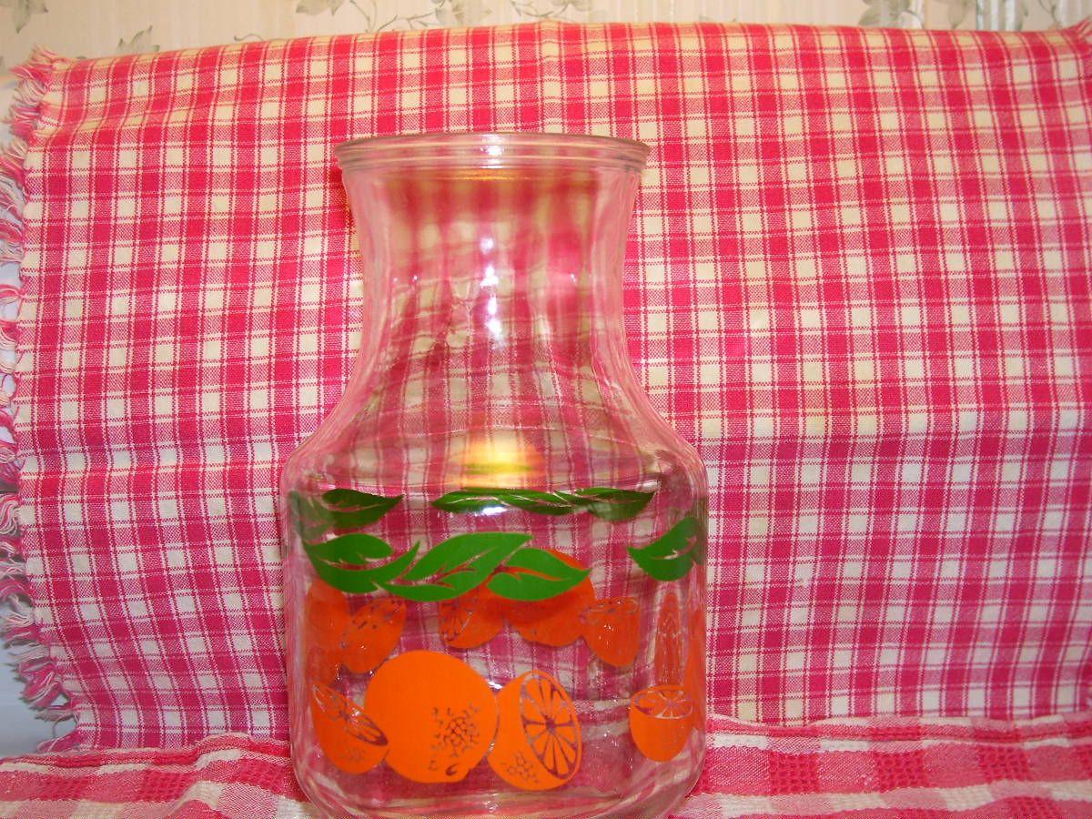 Glass Orange Juice Bottle Pristine Condition Vintage 2 1 2 Men In Saleaway S Garage Sale In Quakertown Pa For 8 00 Same As T Juice Bottles Vintage Glass