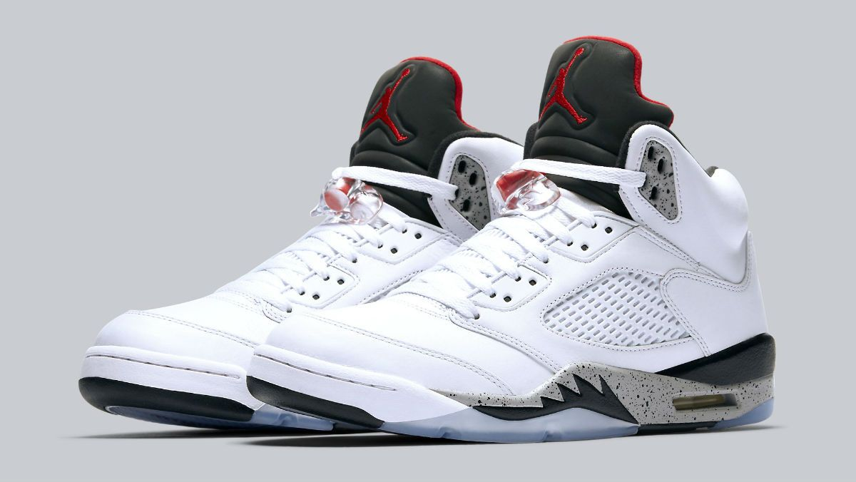 Cement' Air Jordan 5s for the Whole