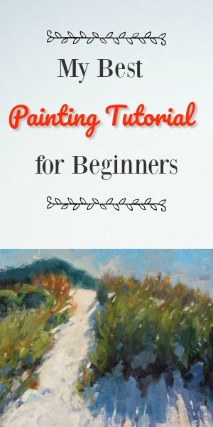 A Free painting introduction course for anyone starting out Scene