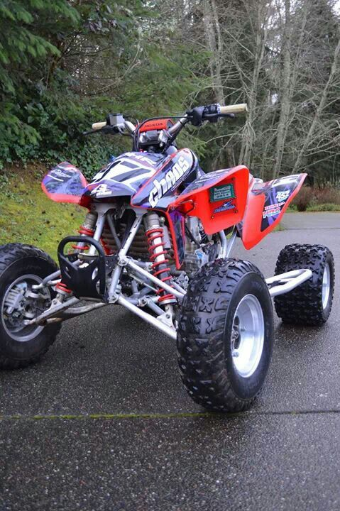 Four Wheelers For Sale Cheap >> Honda trx450 graphics #chaosgraphics | atv graphics ...