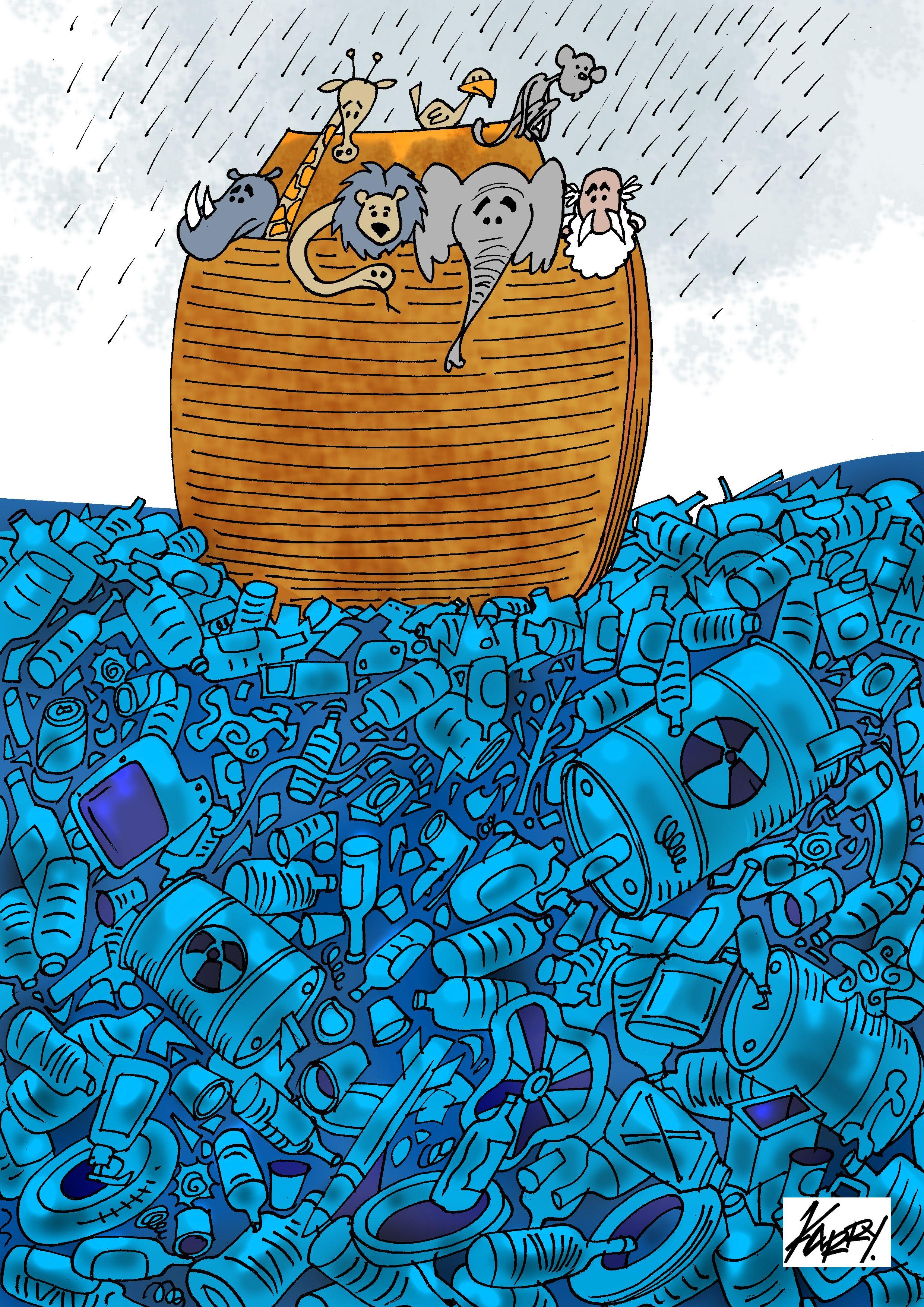 Contaminacion Dibujo Del Mar Fondo De Pantalla De Viajes Dibujos