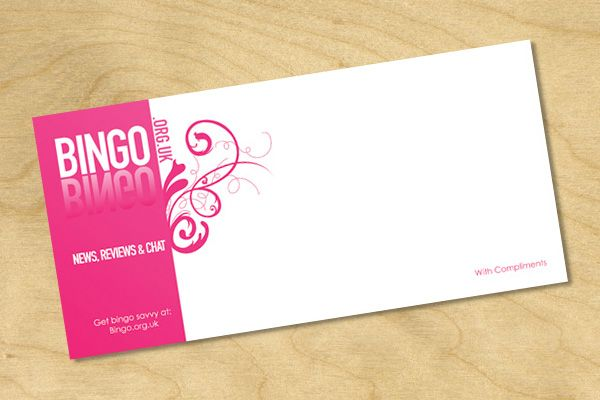 Compliment Slips © Bingo | Logos And Branding | Pinterest | Visual