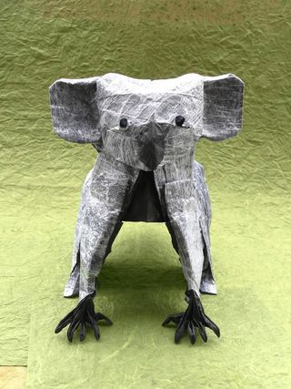 Is Mother Nature Origami Artist >> Origami Artist Folds Life Into Imaginative Paper Creatures