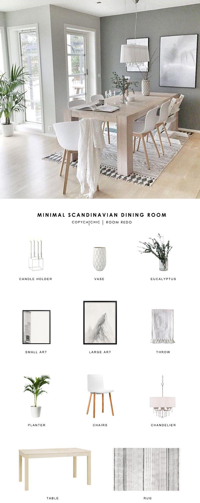Photo of Copy Cat Chic Room Redo | Minimal Scandinavian Dining Room – copycatchic