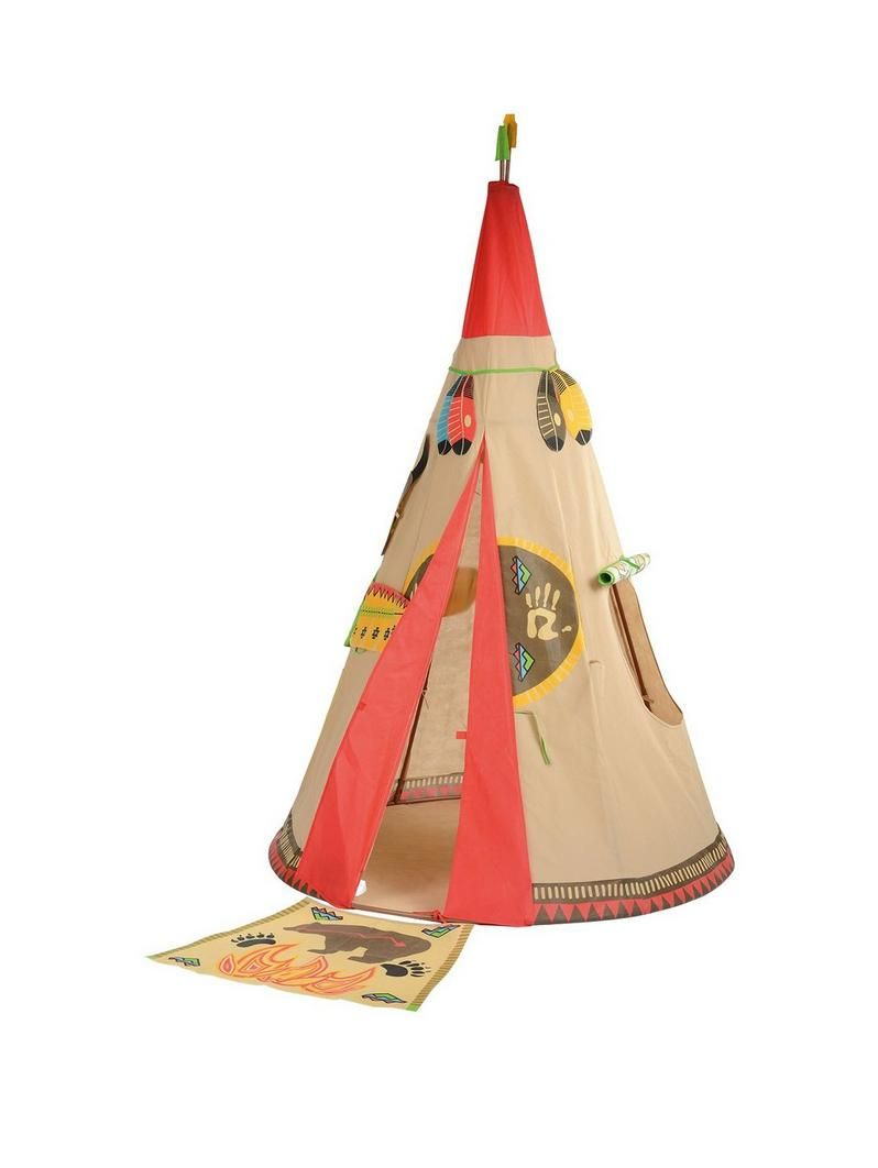 The pop up design of this play teepee tent continues the idea of the originalu2026  sc 1 st  Pinterest & The pop up design of this play teepee tent continues the idea of ...