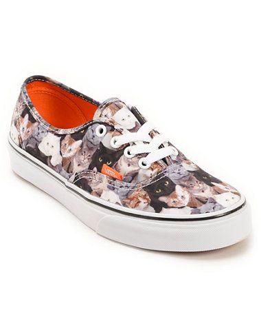 eddac582a9 Vans x ASPCA Authentic Cats Shoes