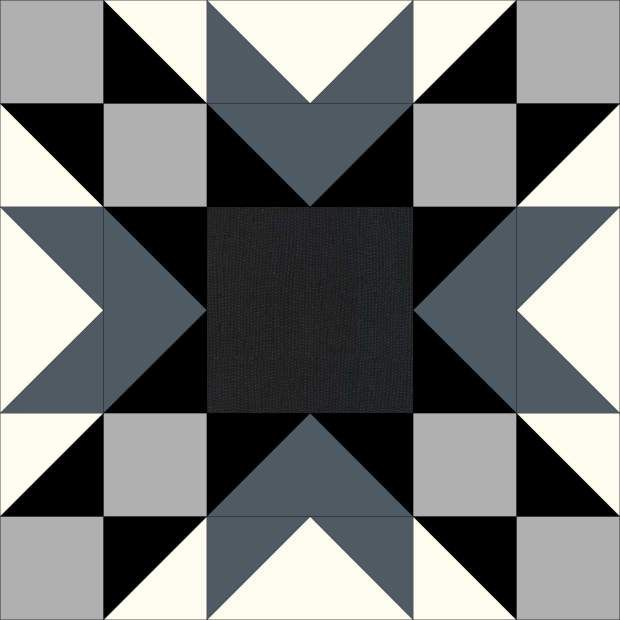 Double Star Block Tutorial Barn Quilt Patterns Pinterest Barn