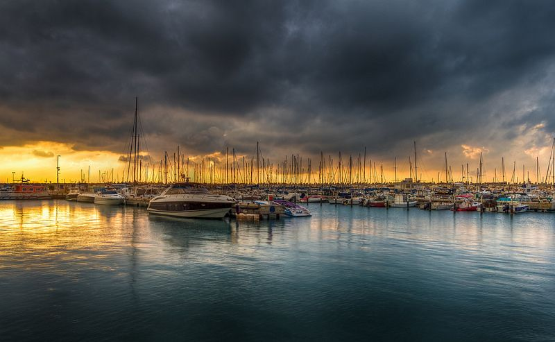 Overcast sunset | by Sergio Gold
