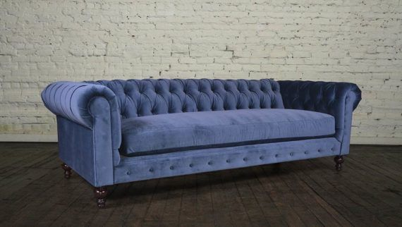 Chesterfield 96 Bench Classic Tuft Cannes Harbor Cococo Home - Derby-chesterfield-sofa