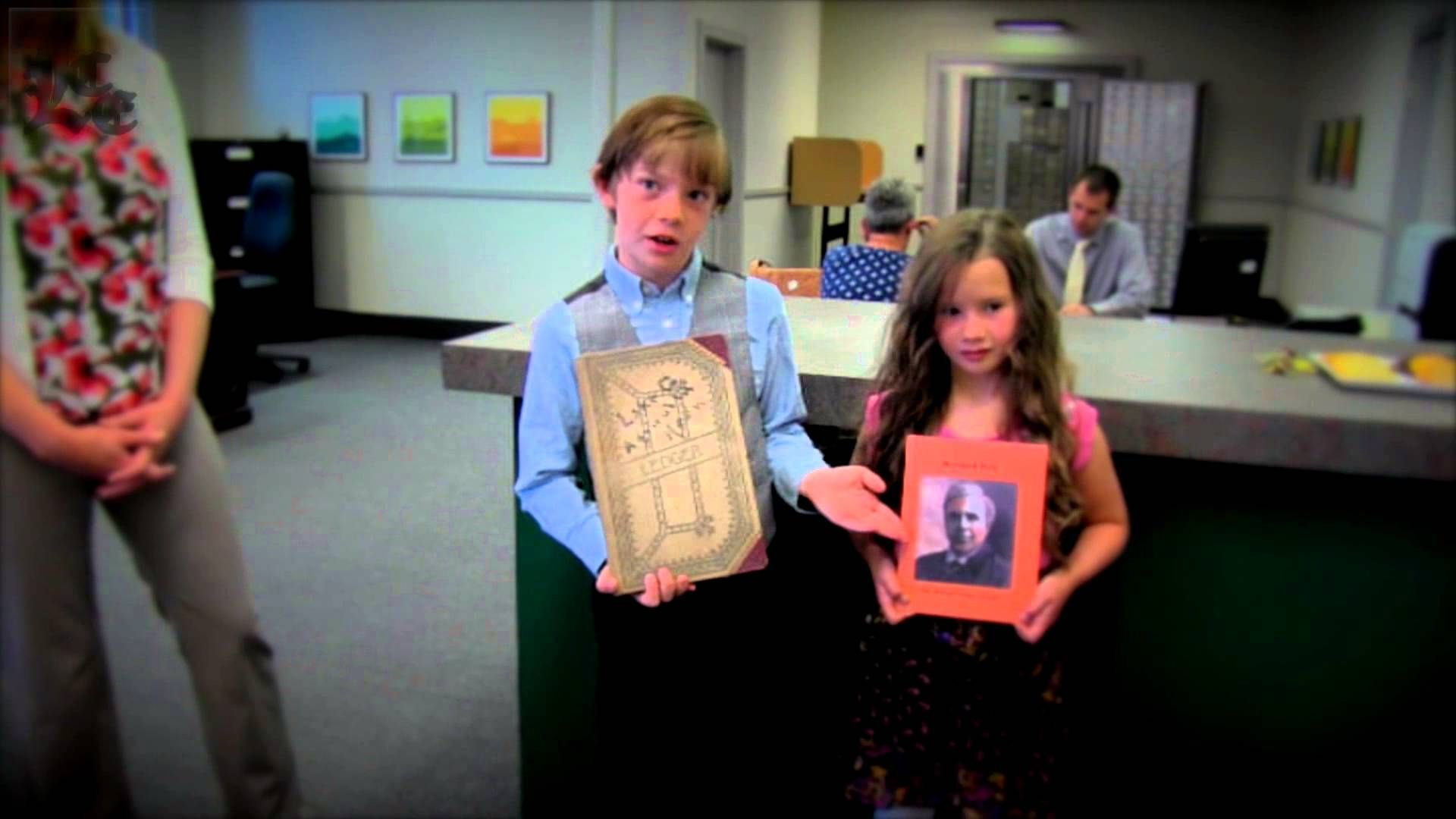 Lakeview kids discover historic Daly Bank ledgers 725