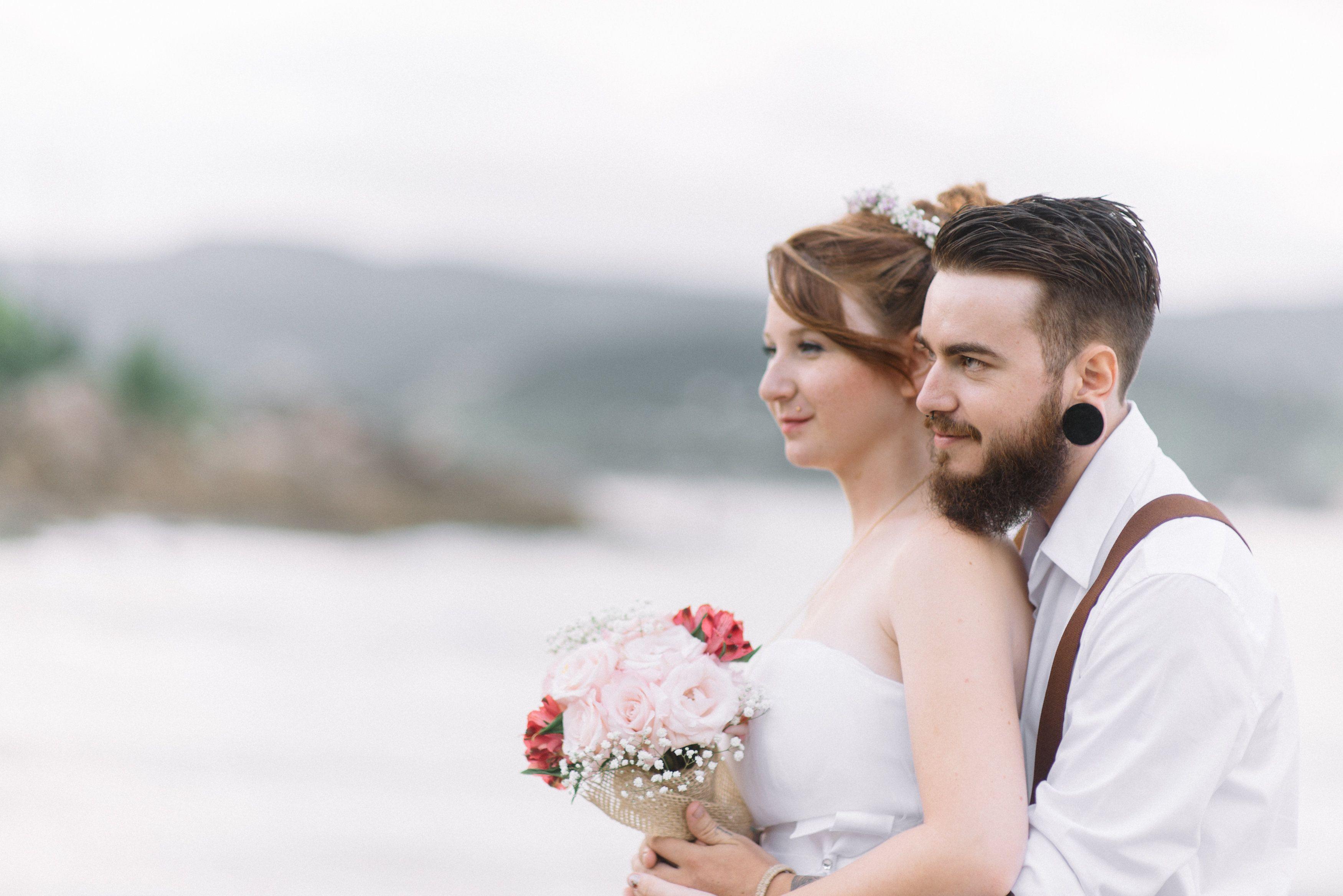 Nosso casamento em Garopaba-SC  Além Fotografia, Garopaba, Praia da Vigía 07-03-15