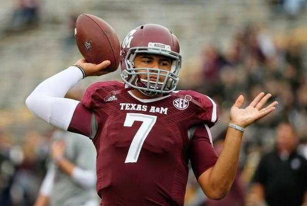 Texas A M Head Coach Kevin Sumlin Names New Starting Quarterback Video Fatmanwriting Football College Football Season College Football